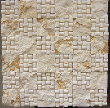 Egyptian Beige marble design your own mosaic tile
