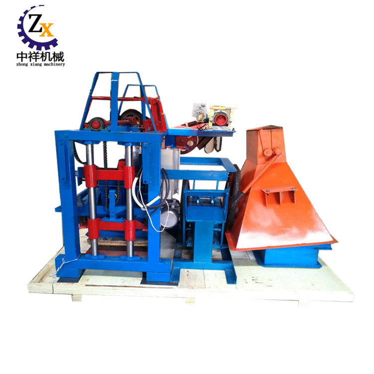 6 inches manual concrete hollow block making machine philippines