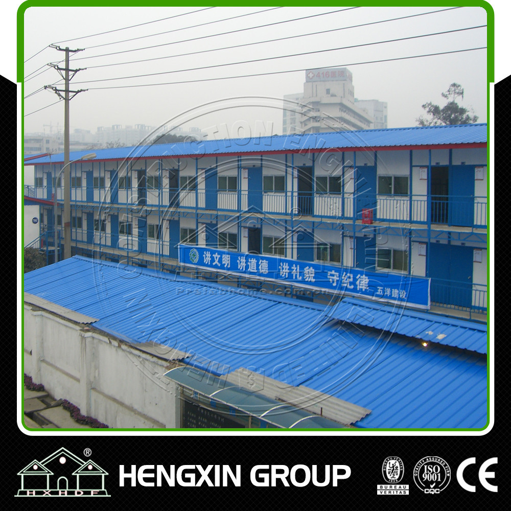 Cheap Eps steel structure prefabricated house labor camp building plan