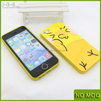 Yellow color soft tpu phone case cover for iphone 5/5s,accessories for iphone