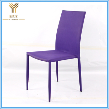 New Style soft luxury fabric dining chairs