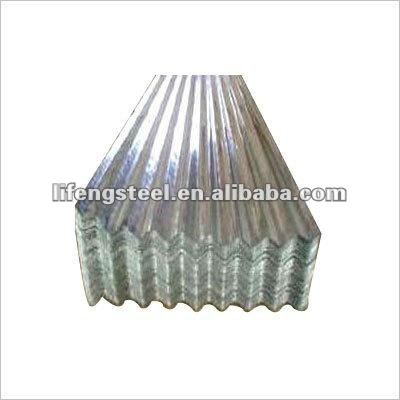 high quality and competitive price galvanized corrugated steel iron sheet