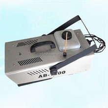 Disco Wedding Party 1200W Fog Machine Smoke Stgae Equipment Remote Wire Control Smoking Machine
