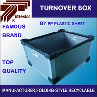 Corrugated Plastic Sheets Boxe PP Hollow Board Turnover Box