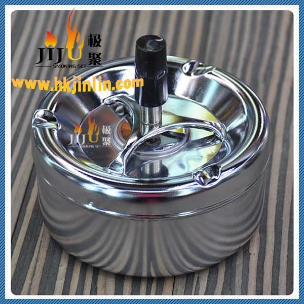 JL-012S Yiwu jiju Ashtrays custom antique metal cigar ashtray