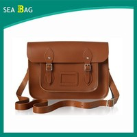 2016 Hot Selling Woman Custome Leather Messenger bag For Wholesale in Guangzhou