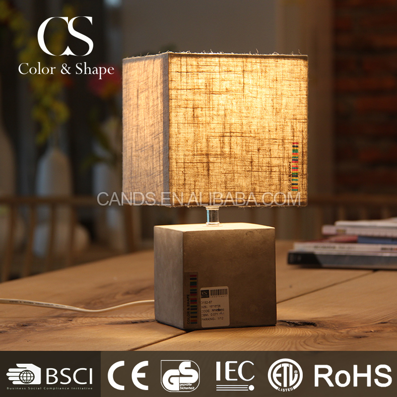Square shape table lamp/table light/desk light