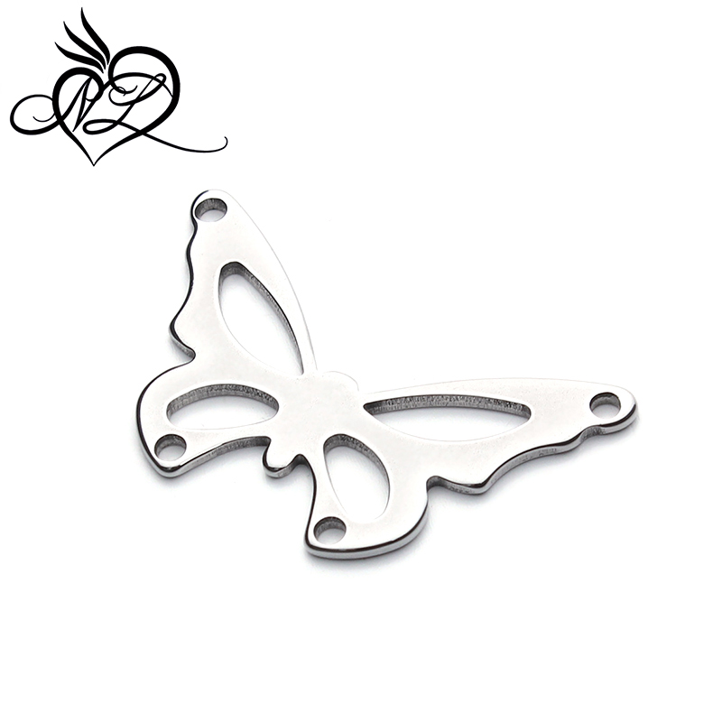 <strong>New</strong> design fashion stainless steel butterfly pendant stainless steel butterfly charms