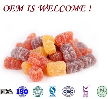 omega 3 fish oil gummy candy FDA HALAL OEM omega 3 6 9