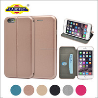 Luxury Magnetic Flip Cover Stand Wallet Leather case for iphone 6 case