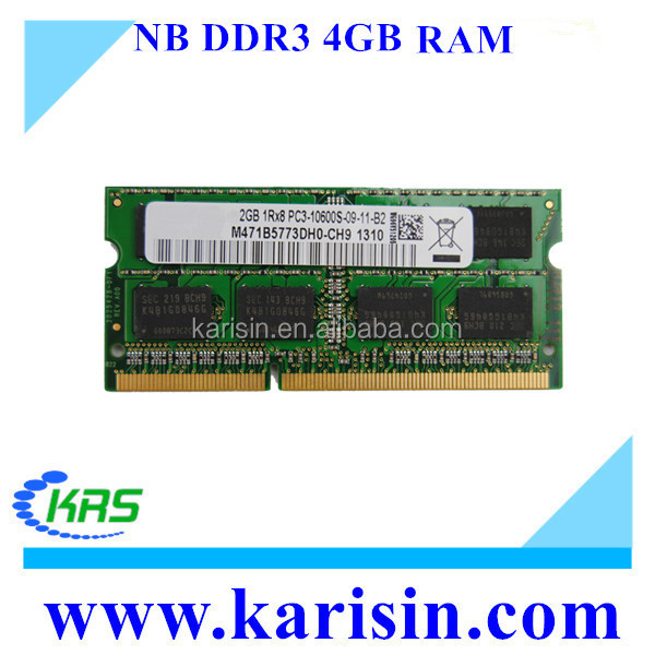 China best price laptop memory ddr34gb wholesale