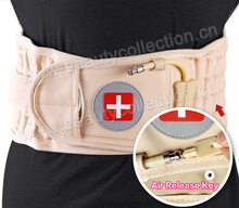 Health inflatable lumbar traction belt for back pain relief BC-0905