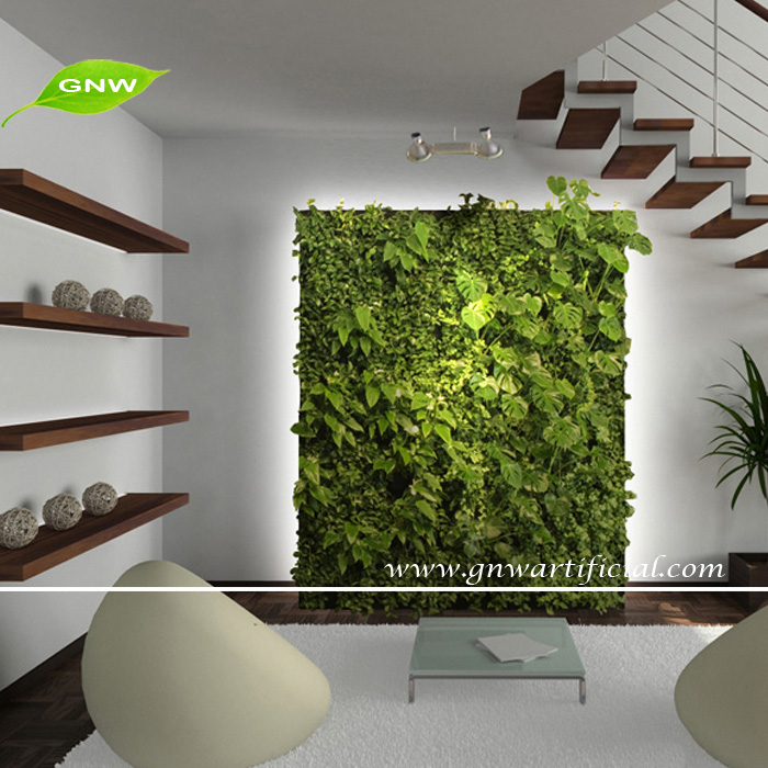 GNW GLW016 Vertical Garden Green Wall Fake Plastic Plants Walls Indoor And  Outddor Use
