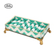 Wholesale custom stackable ring display storage jewelry display tray