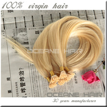 Unprocessed factory price european hair cheap straight white hair extensions