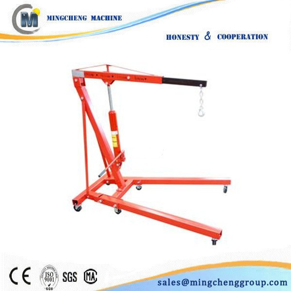 supply hoist crane 5 ton/Hydraulic Foldable Shop Crane