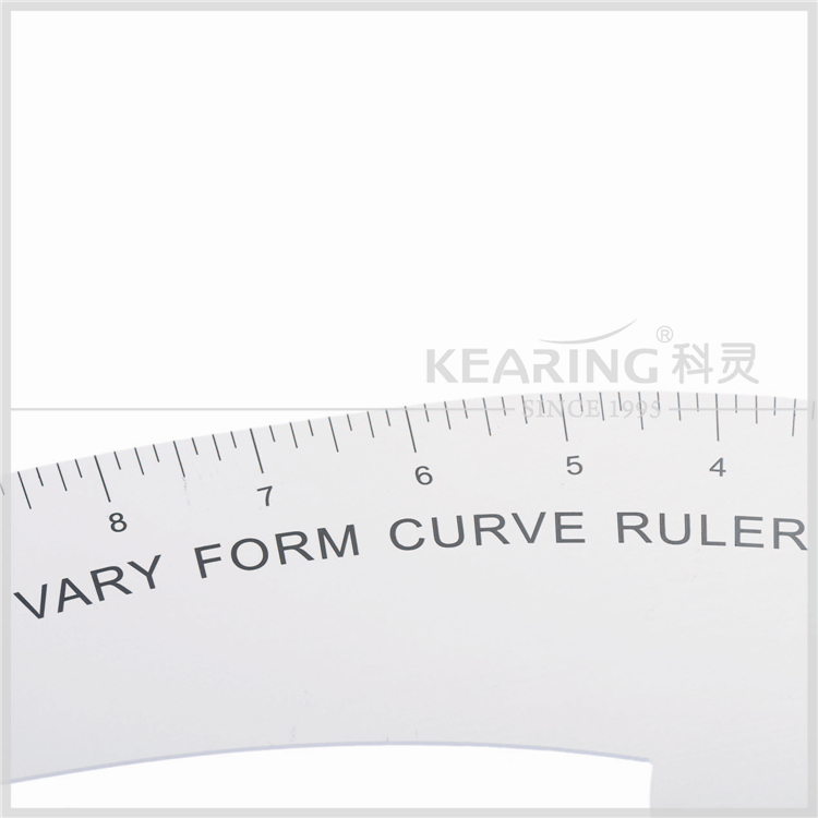 kearing brand Vary Form Curve Ruler aluminium styling curve ruler, super quality #6112A