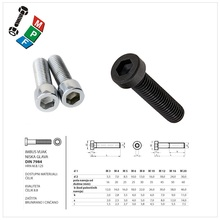 Made in Taiwan DIN 7984 Hexagon Socket Thin Head Cap Screw Hex Socket Cap Screw With Low Head DIN 7984 Stainless Steel DIN 7984