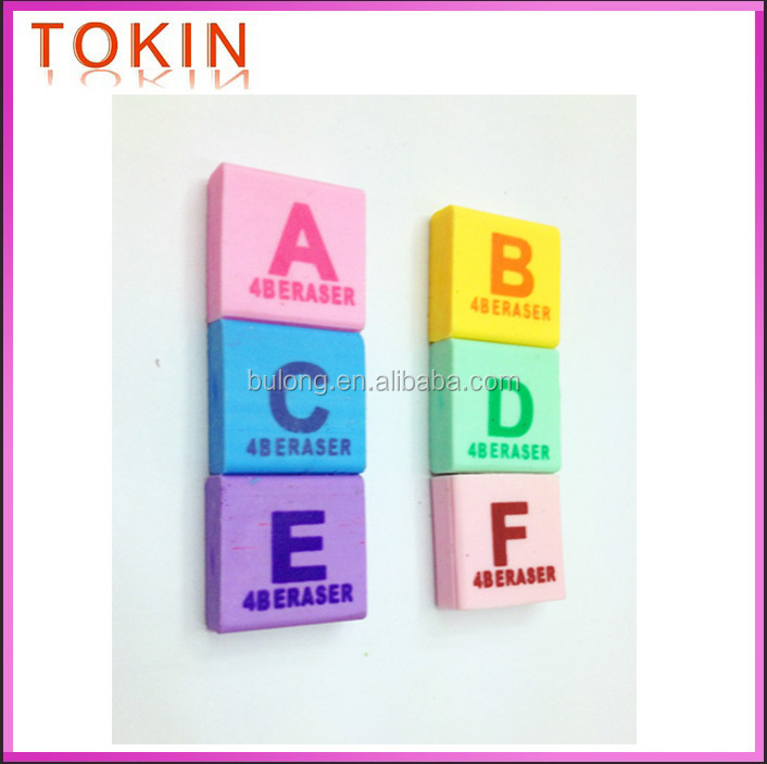 stationery wholesale 3D novelty pencil eraser