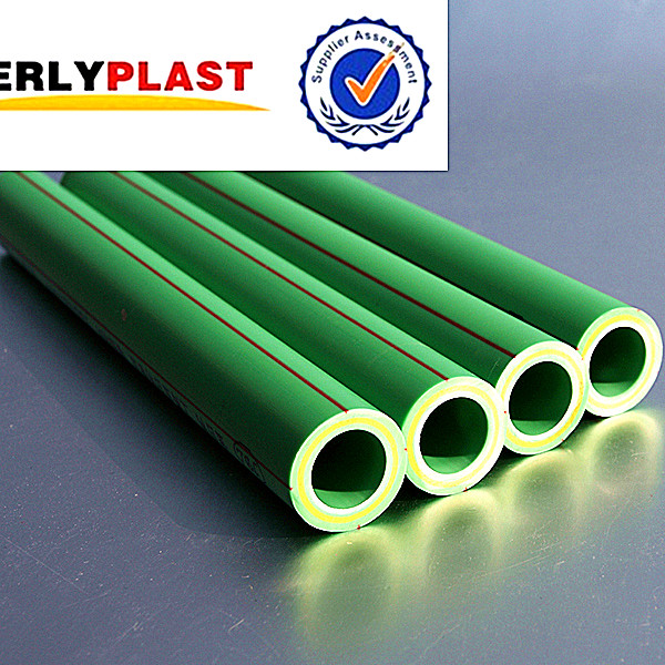 High Quality PPR Green Plastic Pipe Supply Water