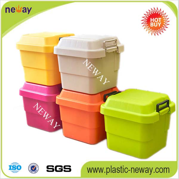 Eco-friendly Colored Doll Plastic Storage Boxes