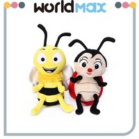 Famous Movie Character Toy Stuffed Bee Toys for Kids