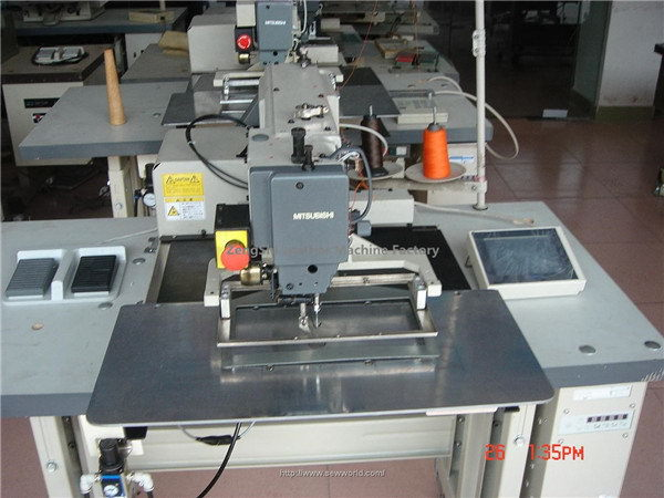Economic new products fabric cutting and sewing machine