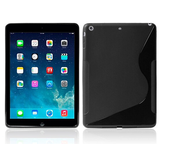 S Line Matte Soft TPU Case For ipad 2/ipad 3/ipad 4