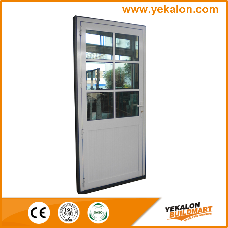 Yekalon Free Sample Exterior Metal Door With Glass From China Supplier