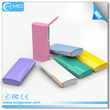2017 factory sell price powerbank charger with desk lamp 1.5W power bank 8000mah