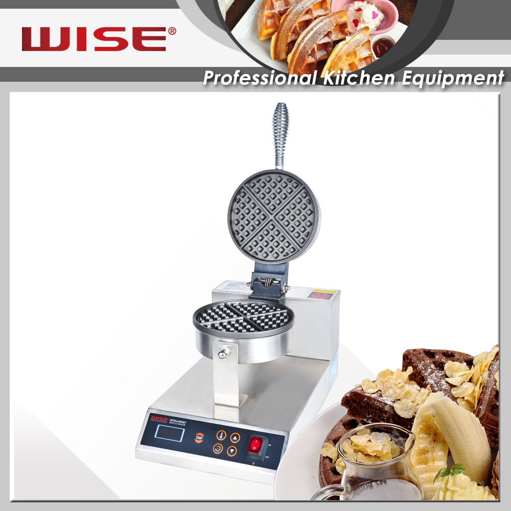 WISE Kitchen Thin Carbon Waffle Maker with Good Price
