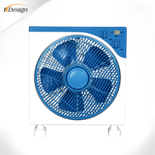 12 inch 3 speed silent box fan square low speed box high quality fans for house