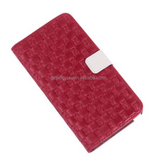 big brand Stylish Knit Lines PU Leather Phone Case for iphone 6/6s/plus