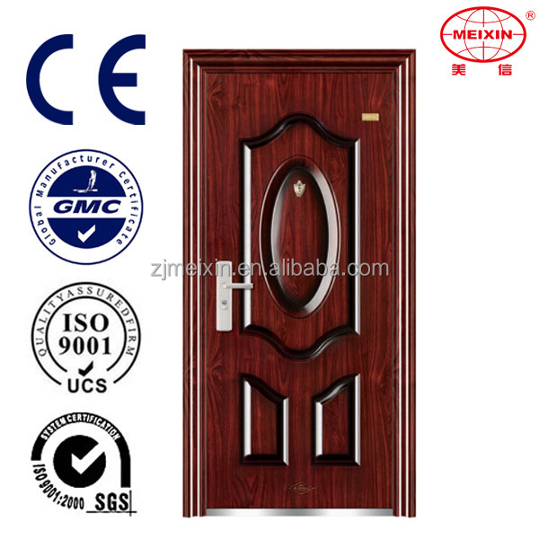 Entrance 2016 High Quality Steel Apartment Building Entry Doors