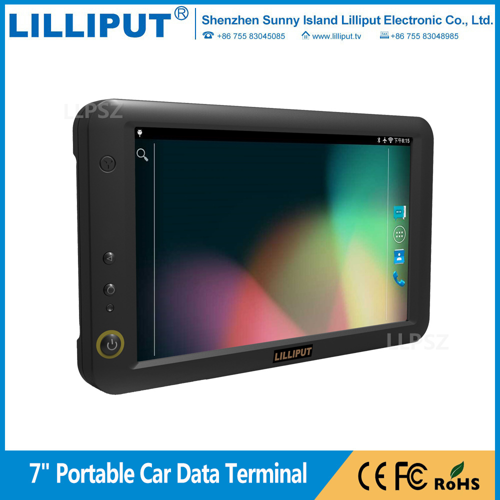 "Lilliput PC-7145 7"" Portable Navigation GPS Data Terminal with Android 5.1.1 for Car Vehicle Tracking"