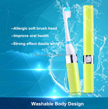 OEM electric toothbrush personalized Battery powered electric toothbrush