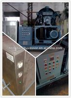 High Pressure piston industrial air compressor HTA 120 with 105CFM 580PSI 30HP 3m3 40bar 22kw