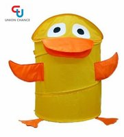 Kids Cartoon Pop Up Duck Laundry Storage Hamper