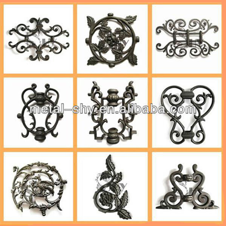 Ornamental Casting Iron Fence Collars