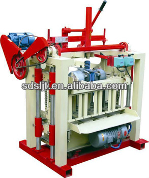 QMJ4-40 Top quality manufacturing machines full automatic machine concrete block production