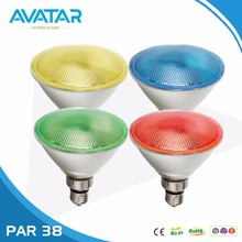 Ce rohs Ip65 rgbw 15w 13w 10w 9w 5w 3w mini cob par 38 30 20 16 led par38 par30 par20 dimmable light bulb lamp for outdoor
