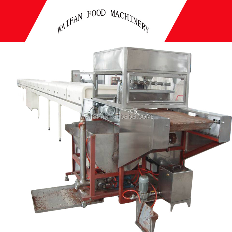 Kinder joy chocolate filling machine/chocolate production line/chocolate coating machine