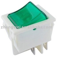 Green Electrical Rocker Switch