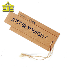 Fancy new china design jeans recycled kraft garment custom paper hang tag for clothing