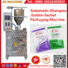 JB-150J Automatic (four side sealing)shampoo/lotion sachet packing machine piston pump filling machine