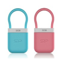 Waterproof creative usb flash drive,high quality lock shape mini usb