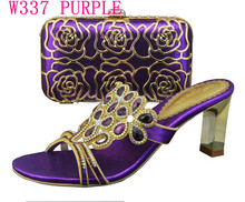 2014 wholesales good sellers italian matching shoes and bags/high quality for ladies shes and matching bags for wedding