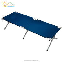 Folding camping bed cot lightweight folding beach bed