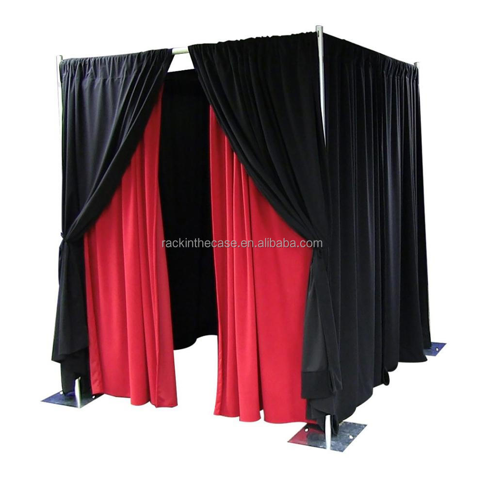 pipe and drap for Exhibition Custom Slatwall Portable Advertising Pop Up Trade Show Tension Fabric Display