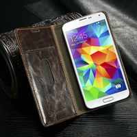 For Samsung Galaxy S5 Case Cover,Caseme Leather Case For Galaxy S5,Stand Wallet Phone Case For Samsung Galaxy S5